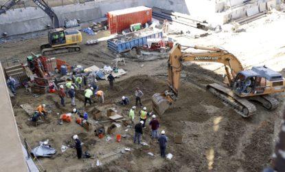 По бульвару Боровиковського  розпочали будівництво